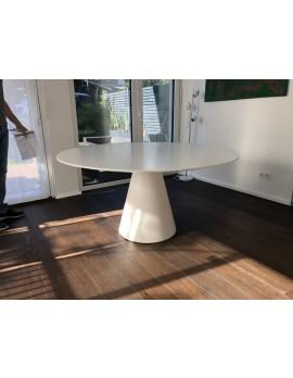 Tisch weiß , Esstisch rund modern weiß, Tisch rund, Durchmesser 150 cm