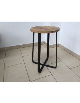 Barhocker Industriedesign, Barhocker Metall Industrie, Sitzhöhe 58 cm