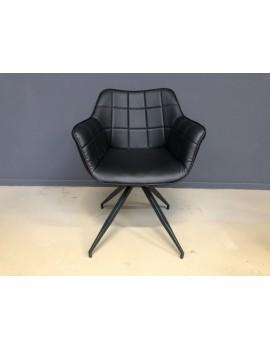 Stuhl schwarz, schwarzer Stuhl, Konferenzstuhl schwarz