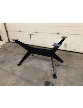 Tischgestell schwarz Metall Industriedesign, Tischgestell für Esstisch Industrie Metall