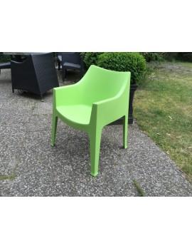 Gartensessel grün, Gartenstuhl grün Kunststoff, Stuhl grün stapelbar