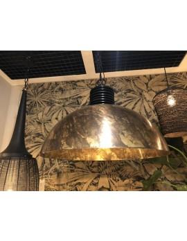 Metall Pendelleuchte  Industriedesign, Hängeleuchte Industrie Metall, Hängelampe Metall, Durchmesser 70 cm
