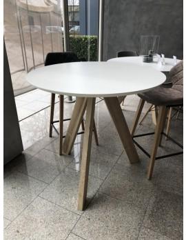 Runder Esstisch weiß, Tisch rund weiß, Esstisch rund weiß, Durchmesser 120 cm
