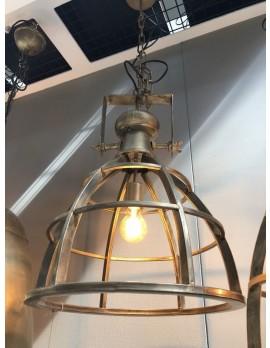 Pendelleuchte Metall Industriedesign, Hängeleuchte Industrie Metall, Hängelampe Metall, Durchmesser 40 cm