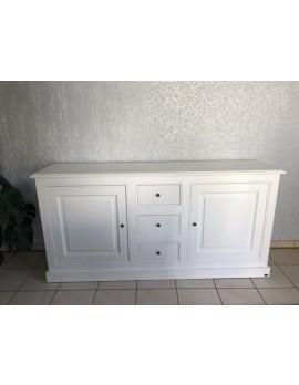 Sideboard weiß Landhaus,Anrichte weiß Landhausstil, Kommode weiß Landhaus, Breite 190 cm