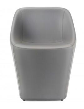 Sessel grau, Design Stuhl-Sessel grau, Stuhl grau