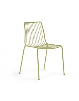 Gartenstuhl grün Metall, Stuhl  grün Metall stapelbar