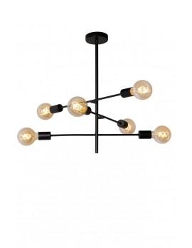 Deckenleuchte, modern, schwarz, Metall, Deckenlampe