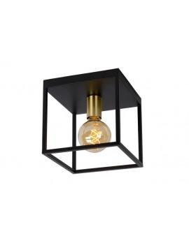 Deckenleuchte, modern, schwarz, Deckenlampe Metall