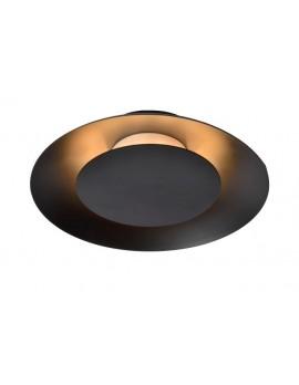 LED Deckenleuchte, schwarze Deckenlampe