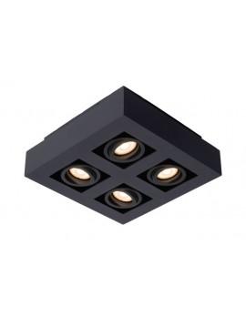 LED Deckenstrahler, schwarze Deckenleuchte