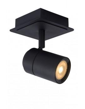 Deckenstrahler, schwarz Metall, Deckenlampe