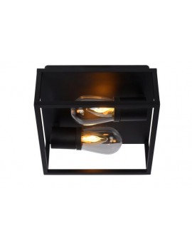 Deckenleuchte schwarz, Aluminium Deckenlampe