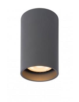 LED Deckenstrahler, Aluminium Deckenleuchte grau