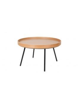 Couchtisch Eiche, Coffee Table, Durchmesser 78 cm