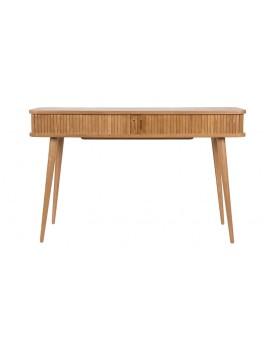 Konsolentisch Eschenholz, Konsolentisch mit Rollladen
