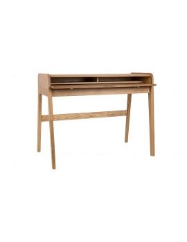Schreibtisch Holz, Schreibtisch Breite 110 cm