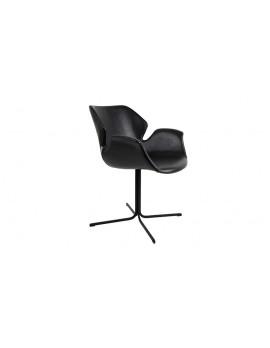 Stuhl schwarz, Stuhl mit Armlehne schwarz