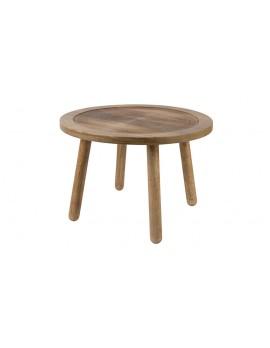 Beistelltisch Holz ,Runder Beistelltisch
