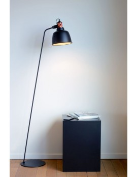 Stehleuchte schwarz Metall, Stehlampe schwarz