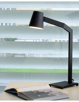 Tischleuchte schwarz , Tischlampe schwarz, Büroleuchte schwarz modern