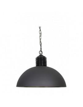 Metall Pendelleuchte  anthrazit Industriedesign, Hängeleuchte Industrie Metall, Hängelampe Metall, Durchmesser 70 cm