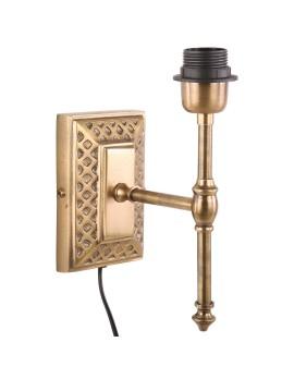 Wandleuchte Bronze, Wandlampe für Lampenschirme