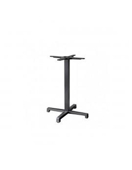 Bistrotischgestell anthrazit  Metall, Tischgestell Metall, Metall-Gestell für Bistrotisch anthrazit, Höhe 73 cm