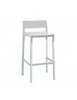 Design Barstuhl, leinen, Sitzhöhe 75 cm, Outdoor