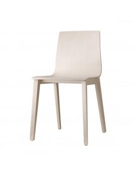 Natural Stuhl Massivholz, gebleichte Buche, Holz