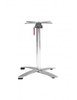Tischgestell Aluminium, Tischsäule klappbar