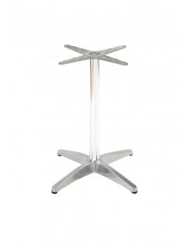 Tischgestell Aluminium für Bistrotisch, Kaffeetisch