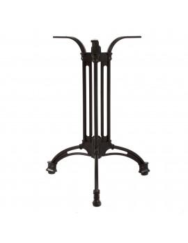 Tischgestell schwarz, Dreifuß-Tischgestell schwarz