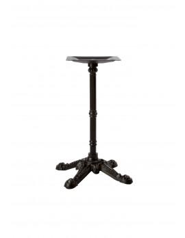 Barock Tischgestell schwarz, Vierfuß-Tischgestell schwarz