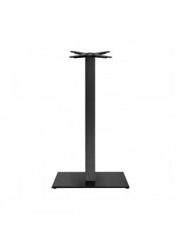 Stehtischgestell schwarz, Tischgestell schwarz, Metall-Gestell Stehtischsäule schwarz , Höhe 109 cm